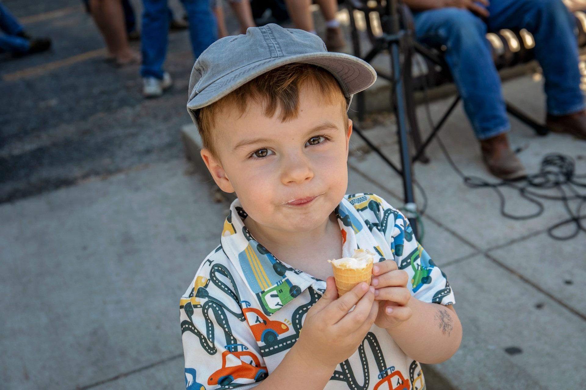 Boy DCGS Ice Cream
